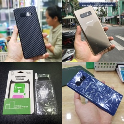 Dán mặt sau Galaxy Note 8 các loại.